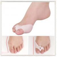 China Bunion Shield Splint Gel Silicone 2-Toe Spacer Prevention Protector with release hole wholesale