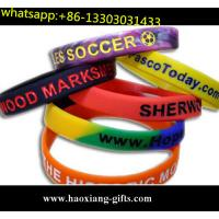 China wholesale cheap wide silicone wristband,fat silicone bracelet for church wholesale