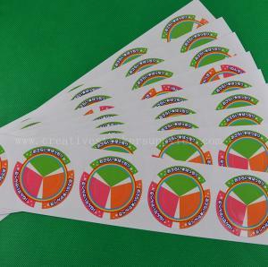China White Vinyl Gloss Labels wholesale