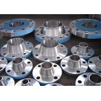 China Alloy Steel Forged Steel Flanges , Flat Face Weld Neck FlangeASTM A234 Standard on sale