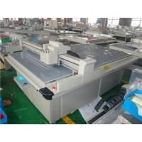 China Automatic Paper Die Cutting Machine , Flatbed Digital Cutter Connectible CAD Software on sale