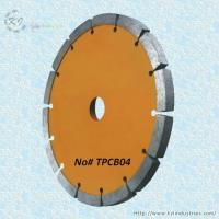 China Diamond Tuck Point Cutting Blade for Granite and Concrete Engroove - TPCB04 wholesale