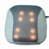 China Massager Cushion with Heating Function, Works for Lumbar, Back and More wholesale