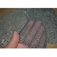 China 304L Stainless Steel Welded Rings Chainmail Mesh Fabric For Decoration And Protection wholesale