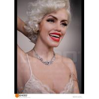 China sexy marilyn monroe silicone Statues Hollywood Celebrity Realistic Wax Museum wholesale
