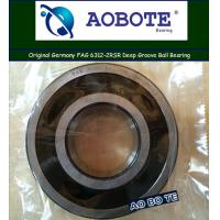 Quality High Speed FAG Roller Bearings 6312-2RSR , Single Row Ball Bearings for sale