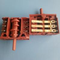 China SD Series Multi Position Rotary Switch 3 / 4 / 5 / 6 Position For Oven wholesale