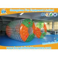 China Water Bottle inflatable roller ball Colorful Or Transparent Dots wholesale
