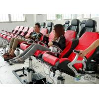 China 5D Luxury Movie Theater Seat Electric Hydraulic And Pneumatic Mobile Seats wholesale