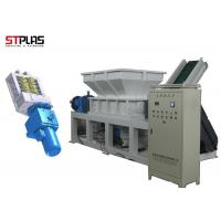 China Twin-Shaft Plastic Shredder Machine Shredder for Plastic Recycling with D2 Blade wholesale