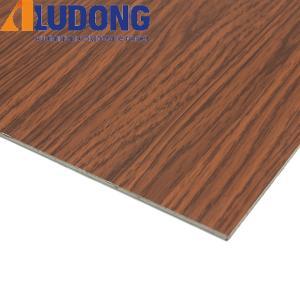 China Wood Color Unbreakable Acm Aluminum For Exterior Decoration wholesale