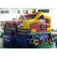 China Colorful Mini Inflatable Bounce House Jumper Monster Car for Children Park wholesale