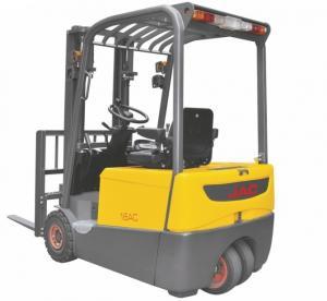 China Three Wheel Electric Forklift Truck 1 ton capacity Small Turning Radius wholesale