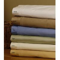 China Cotton 1000 Thread Count Solid Sheet Set wholesale