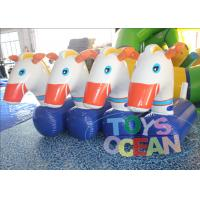 China Customized Inflatable Interactive Games Inflatable Derby Horse / Pony Hop Game wholesale