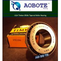 China Long life ISO 9001 Timken Taper Roller Bearings For Plastic Machinery wholesale
