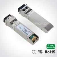 China 10G DWDM Optical SFP+ Optical Transceiver Module Long Distance For 40KM wholesale