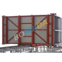 China Double Cage Building Material and Passenger Hoist Elevators 150m Lifting Height wholesale