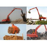 Buy cheap HGVS Crawler Stationary Log Handler Scrap Metal Recycling Machine from wholesalers