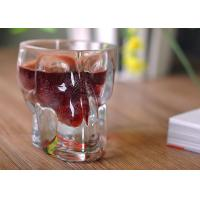 China Clear 1 Ounce Tall Shot Glass / Plain Glass Shot Glasses For Drinking wholesale