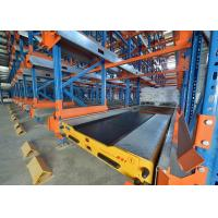 China Steel Shuttle Racking System Space Saving Warehouse Storage Anti Corrosion wholesale