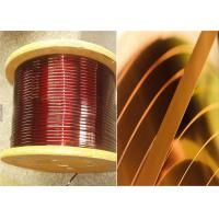 China 0Enamelled Rectangular Magnet Wire .02 - 1.8mm Square Copper Wire For Smart Phones wholesale