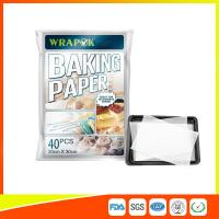 China Waterproof Baking Paper Sheets / Non Toxic Parchment Paper Heat Resistant 20 * 30cm wholesale
