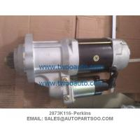 China 2873K116 S512784 - Perkins Starter Motor 2873K116, 24V, CW, 38MT wholesale