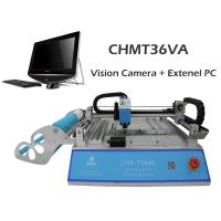 China Best seller CHMT36VA dual vision camera + External PC, SMT Pick And Place Machine, Closed-loop control, 110VAC / 220VAC wholesale