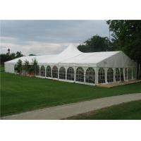 China White Fabric Cover Heavy Duty Marquee Banquet Tent Strong Cold Resistance wholesale