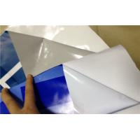 China White / Clear Window Static Cling Decals One Side Vision No Adhesive wholesale