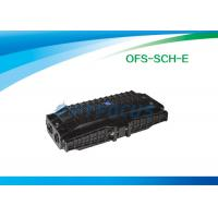 Wholesale 6 Port 12 Fibers Fiber Optic Enclosures 3 outlet  3 inlet Horizontal type from china suppliers