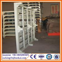 China Warehouse storage heavy duty stacking steel pallet racking wholesale