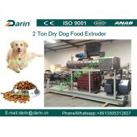 Quality Double screw Automatic dry Pet Food Extruder production machine for sale