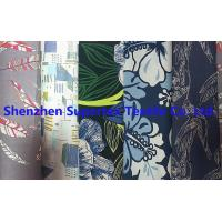 China Poplin Reactive Print Garment Custom Cotton Fabric 40S 118GSM 147CM wholesale