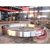China High Precision Wind Tower Ring Rolled Forging Steel Flange / Hollow Forging wholesale