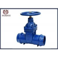 China Pvc Pipe Socket Gate Valve , Blue Color Metal Seated Gate Valve For Water Industry wholesale