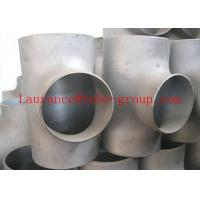 "China ASME B 16.9 ASTM 1/2"" - 100"" in all wall thickness Tee wholesale"
