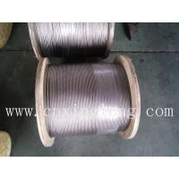 China sell xinglong control cable 1x7 1x12 1x197x7 7x19 1+12 8x7+1x19 1x37 wholesale