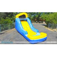 China slip and slide for adult and kids,backyard water slide wholesale