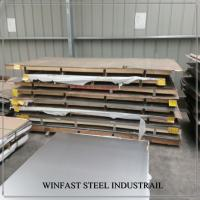 China POSCO  409L / 409 Stainless Steel Sheet Cold Rolled 2440mm Length 2D Surface wholesale