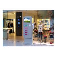 China Video Advertising Automatical Smart Cell Phone Charging Kiosk Interactive Information wholesale