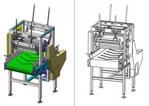 China Single Phase Bag Flatten 2m industrial belt conveyor on sale