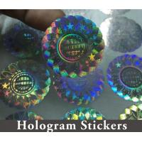 China Honeycomb Custom Hologram Stickers For Pharmaceutical Packaging Security on sale