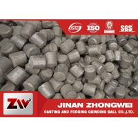 China Chrome cast iron steel mill media for cement plant , customized size wholesale