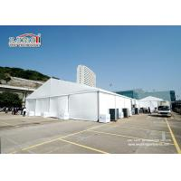 China 1000 People White Marquee Tent With PVC Sidewalls For Temporary Outdoor Event wholesale