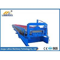 China Steel Roof Sheet Forming Machine Long Time Service For Metal Floor Decking Sheet wholesale