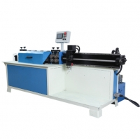 China 0.45mm End Forming Steel Rod Rebar Straightening And Cutting Machine wholesale