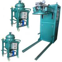 China Thin film degassing vacuum mixing and injection device Epoxy Resin Automatic Pressure Gel Hydraulic APG Clamping Machine wholesale