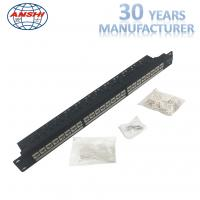 Buy cheap Rack Mount Cat6 UTP Patch Panel Unshielded Modular Type With Cable Manager from wholesalers